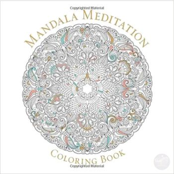 Mandala Meditation Coloring Book Books Mystical Moons