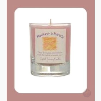 Manifest A Miracle Soy Votive Candle Candles Mystical Moons