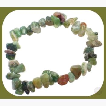 Merchant Stone Blood Chip Bracelet Mystical Moons