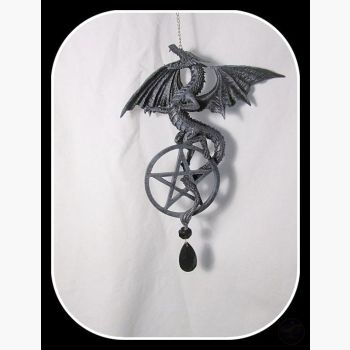 Mighty Dragon & Pentagram Dream Catcher Dreamcatcher Mystical Moons