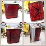 Mini Pocket Leather Journal Journals Mystical Moons