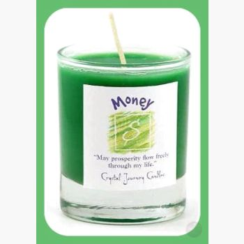 Money Soy Votive Candle Candles Mystical Moons