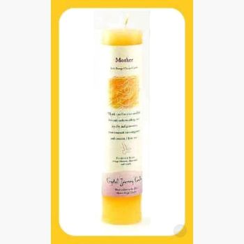 Mother Reiki Charged Pillar Candle Candles Mystical Moons