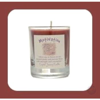 Motivation Soy Votive Candle Candles Mystical Moons