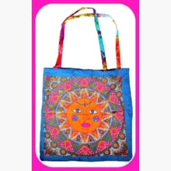 Multi Color Sun Tote Bag Bags Mystical Moons