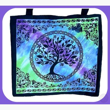 Multi Faith Tree Of Life Tote Bag Bags Mystical Moons