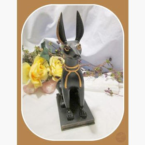 Opener Of The Way Anubis In Jackal Statue Mystical Moons
