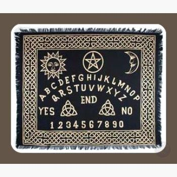 Ouija-Board Altar Cloth Mystical Moons