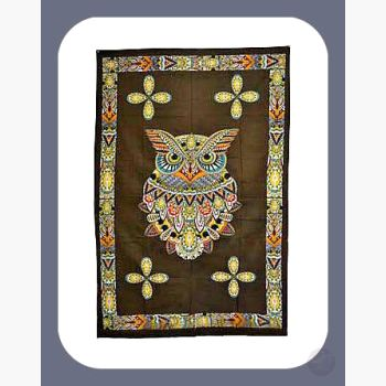 Owl Tapestry Mystical Moons