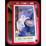 Pagan Cats Tarot Deck Cards Mystical Moons