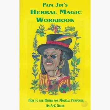 Papa Jim's Herbal Magic Workbook Books Mystical Moons