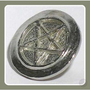 Pentagram Cookie Stamp Ritual Mystical Moons