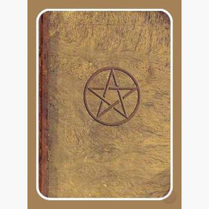 Pentagram Journal Mystical Moons