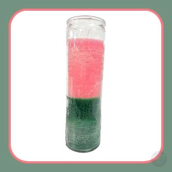 Pink Green 7 Day Jar Candle Candles Mystical Moons