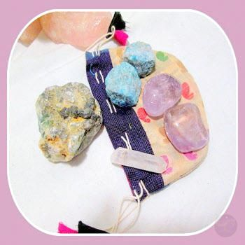 Positive Energy Crystal Grid Kit Mystical Moons