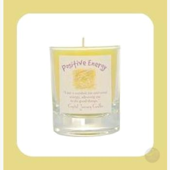 Positive Soy Votive Candle Candles Mystical Moons