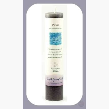 Power Reiki Charged Pillar Candle Candles Mystical Moons