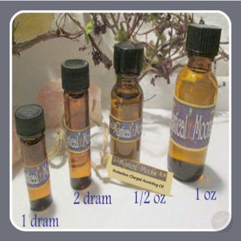 Protection Charged Anointing Oil Oils Mystical Moons
