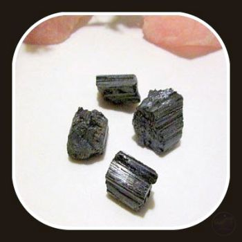 Protector Black Tourmaline Set Stone Sets Mystical Moons