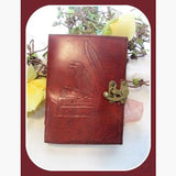 Raven Latched Leather Journal Journals Mystical Moons