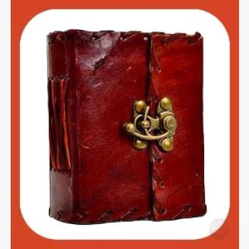 Romantic Poetry Leather Latched Journal Journals Mystical Moons