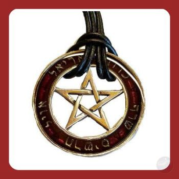Seal Of The Sephiroth Talisman Necklace Amulet & Talismans Mystical Moons