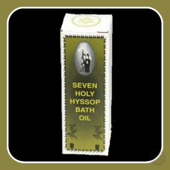 Seven Holy Hyssop Bath Oil Oils & Herbs Mystical Moons