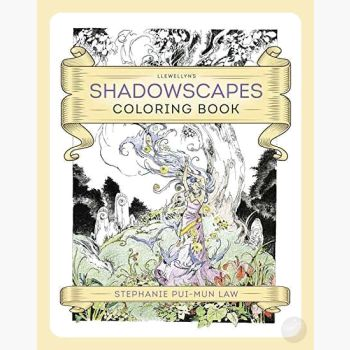 Shadowscape Coloring Book Books Mystical Moons