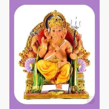 Sitting Ganesh Statue Mystical Moons