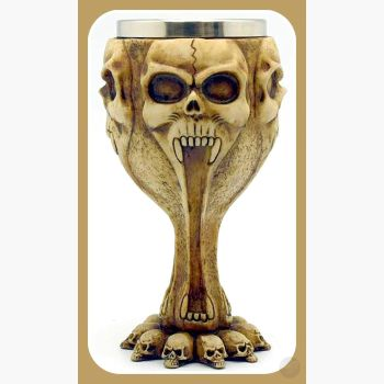 Skull Chalice Chalices Mystical Moons