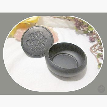 Smudge Pot Charcoal Incense Burner With Coaster Mystical Moons