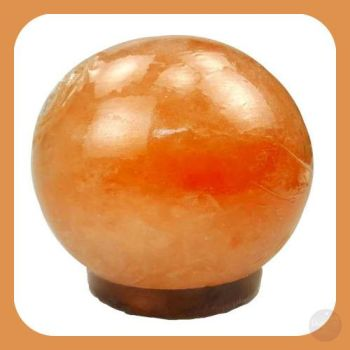 Soothing & Healing Himalayan Rock Salt Sphere Lamp Lighting Mystical Moons