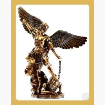 St. Michael Statue Mystical Moons