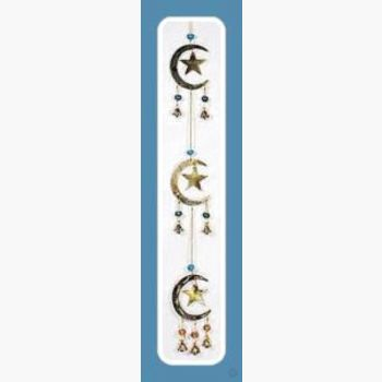 Stars & Moons Wind Chime Mystical