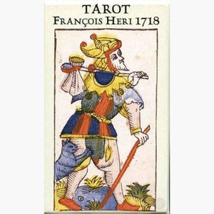 Tarot Francois Heri 1718 Cards Mystical Moons