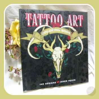 Tattoo Art Coloring Book Books Mystical Moons