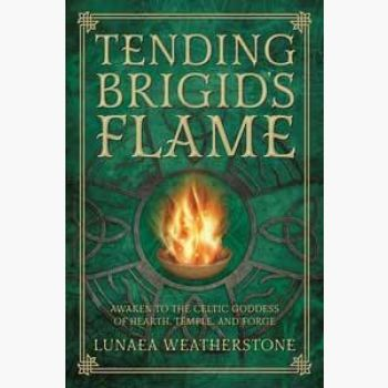 Tending Brigid's Flame Books Mystical Moons