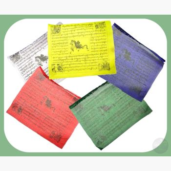 Tibetan Prayer Flag 3 X 4 Flags Mystical Moons