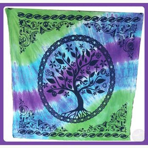 Tree Of Life Altar Cloth Mystical Moons