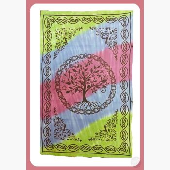 Tree Of Life Coexist Tapestry Mystical Moons