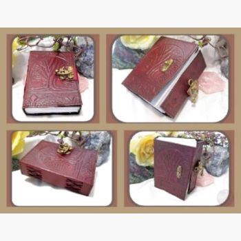 Tree Of Life Latched Leather Journal Journals Mystical Moons