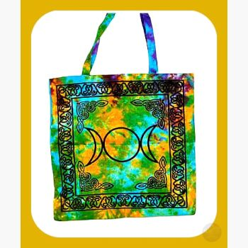 Triple Moon Goddess Tote Bag Bags Mystical Moons