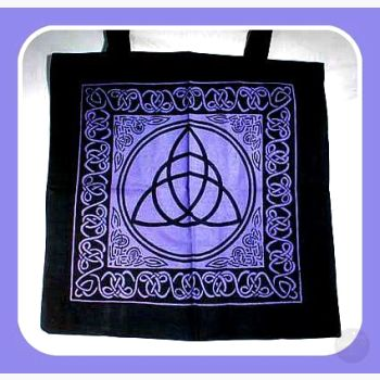 Triquetra Celtic Knotwork Tote Bag Bags Mystical Moons