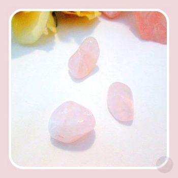 Unconditional Love Rose Quartz Stone Sets Mystical Moons