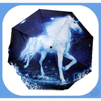 Unicorn Umbrella Mystical Moons