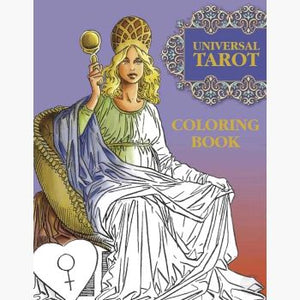 Universal Tarot Coloring Book Books Mystical Moons