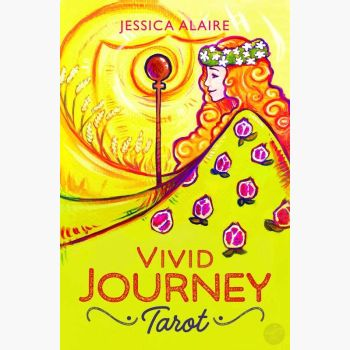 Vivid Journey Tarot Deck & Book Cards Mystical Moons