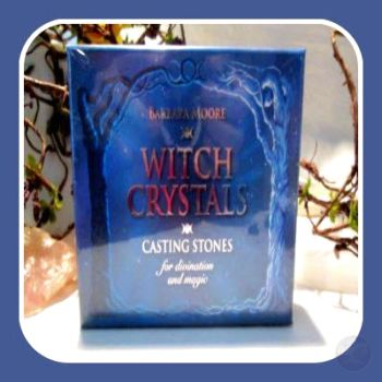 Witch Crystals Casting Stones Tarot Set Cards Mystical Moons