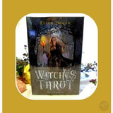Witches Tarot Deck & Book Cards Mystical Moons