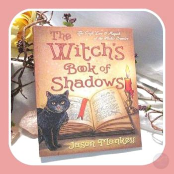 Witch's Book Of Shadows Books Mystical Moons